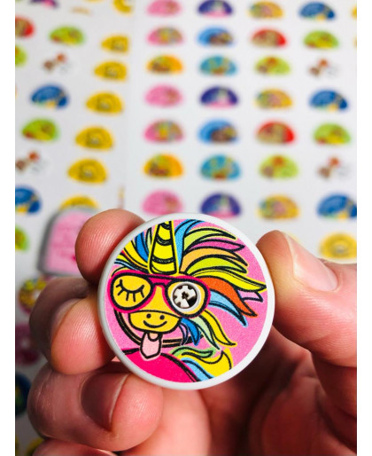 Crazy about Icecream Sticker for FreeStyle Libre Sensor 1 and 2