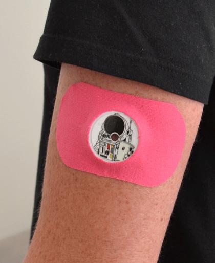 Skull Sticker for FreeStyle Libre Sensor 1 and 2
