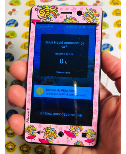 Crazy about Icecream Sticker for Omnipod® POD