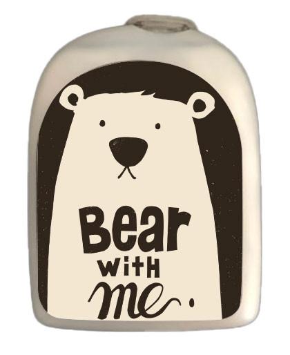 Sticker Bear with me pour le POD de Omnipod®