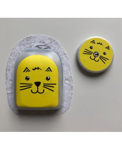 Sticker Chat pour le POD de Omnipod®