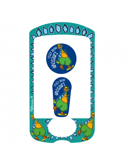 Dinosaur Sticker for the Omnipod® PDM