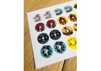 Stickers pour capteur et lecteur Freestyle Libre 1 et 2