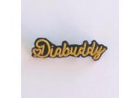Broche DIABUDDY en cannetille brodée à la main pour pimper le t-shirt